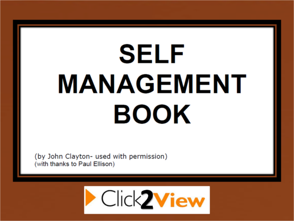 self management cover2