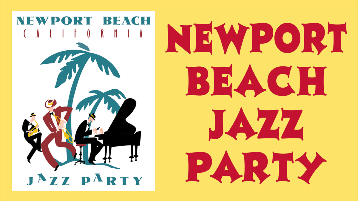 Newport Beach Jazz party logo